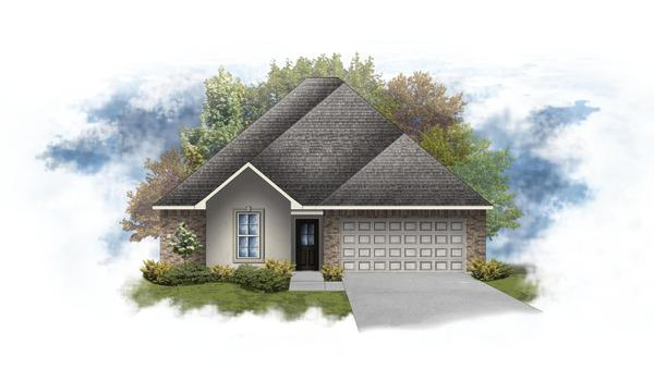 Blackburn III A - Open Floor Plan - DSLD Homes