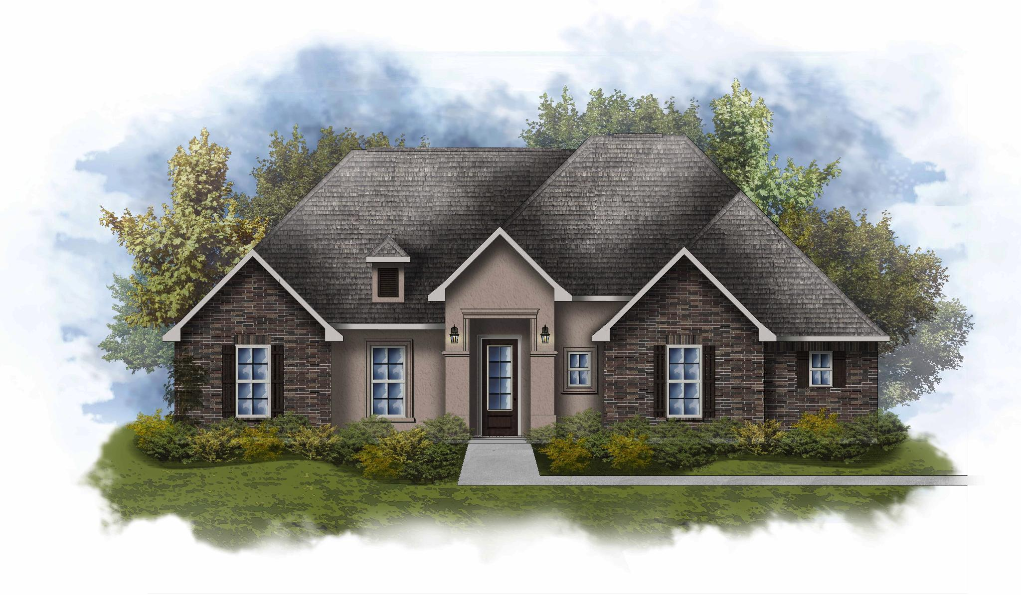 Exterior featured in the Cooper III A By DSLD Homes - Louisiana in New Orleans, LA