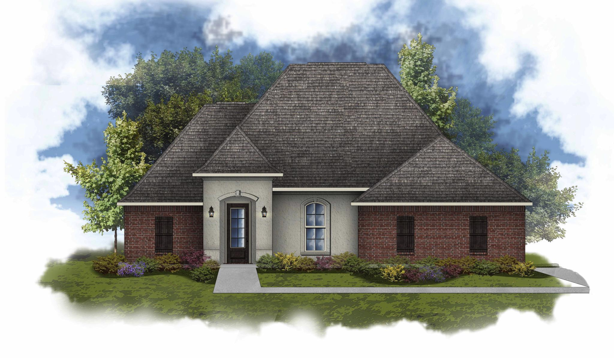 Exterior featured in the Clayton II A By DSLD Homes - Louisiana in New Orleans, LA