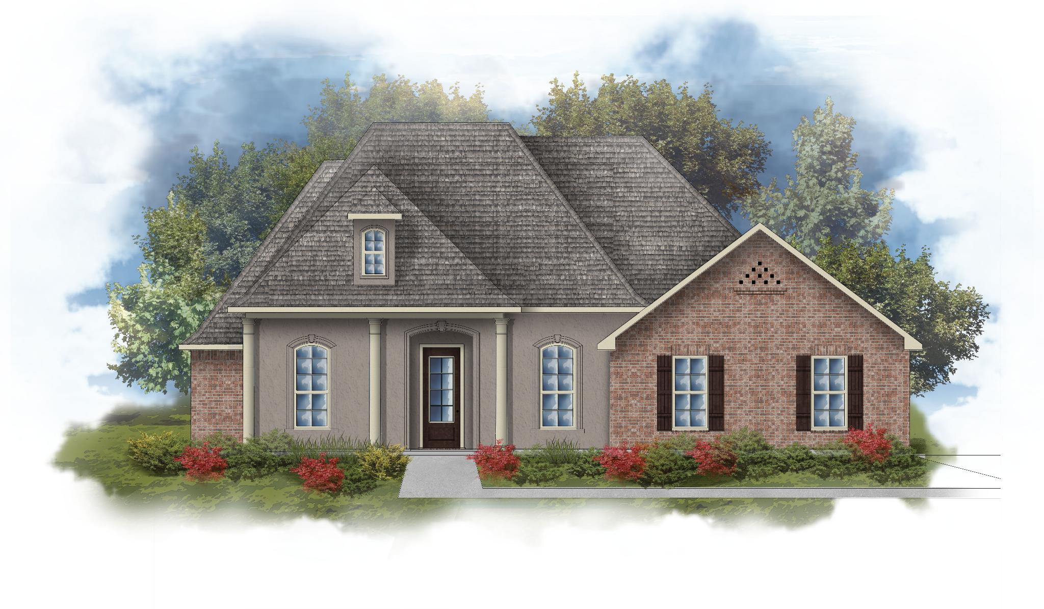 Exterior featured in the Rossi III D By DSLD Homes - Louisiana in New Orleans, LA