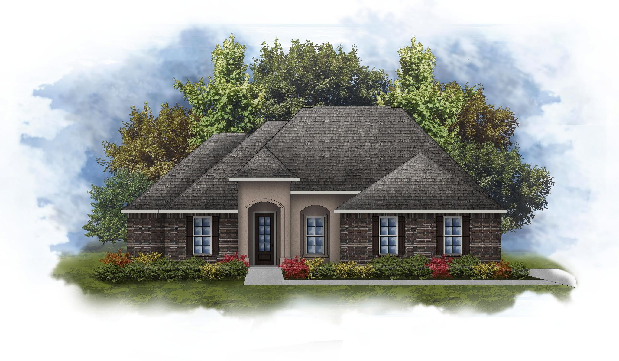 Exterior featured in the Keely II B By DSLD Homes - Louisiana in New Orleans, LA