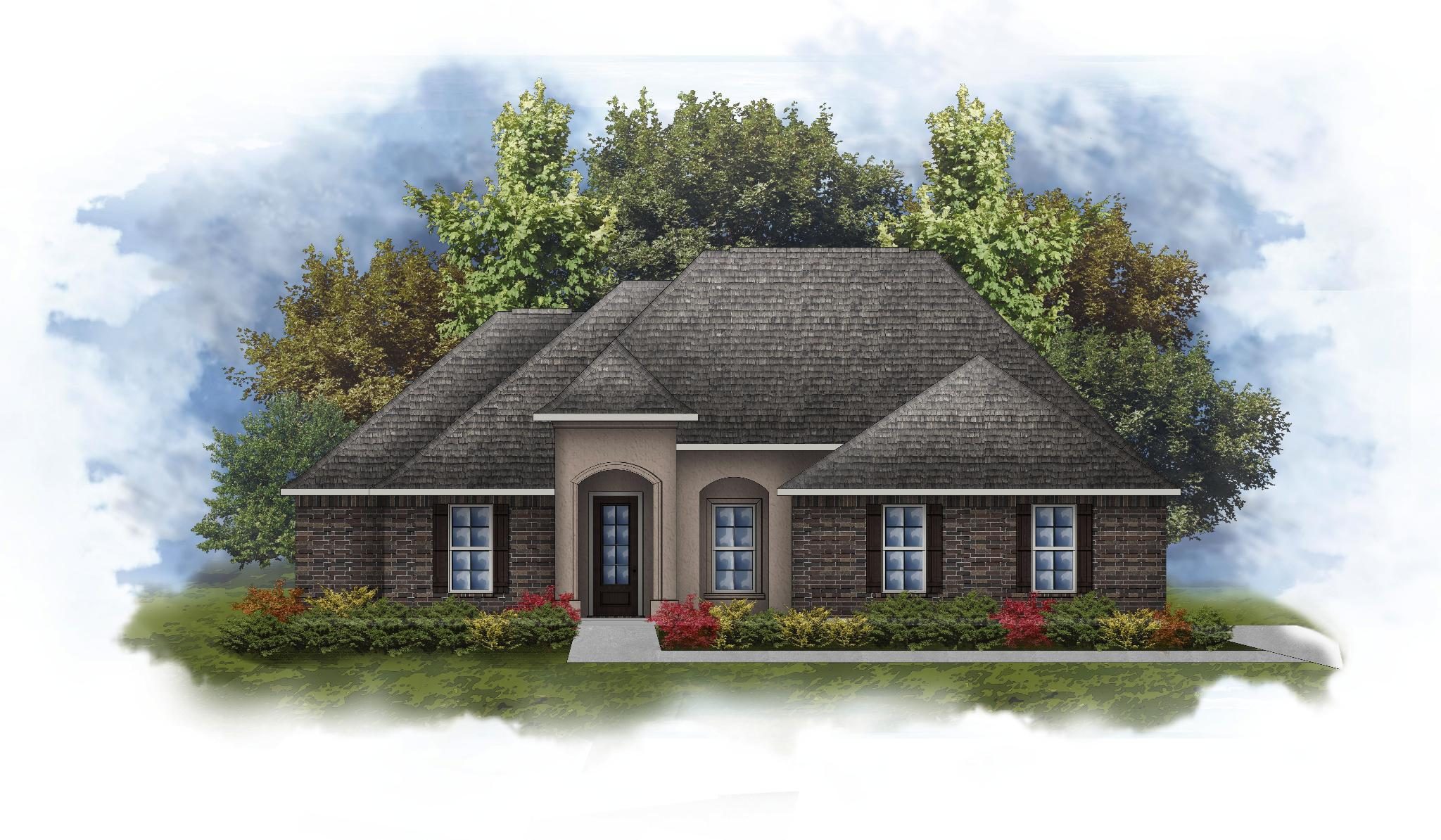 Exterior featured in the Keely II B - Water View By DSLD Homes - Louisiana in New Orleans, LA