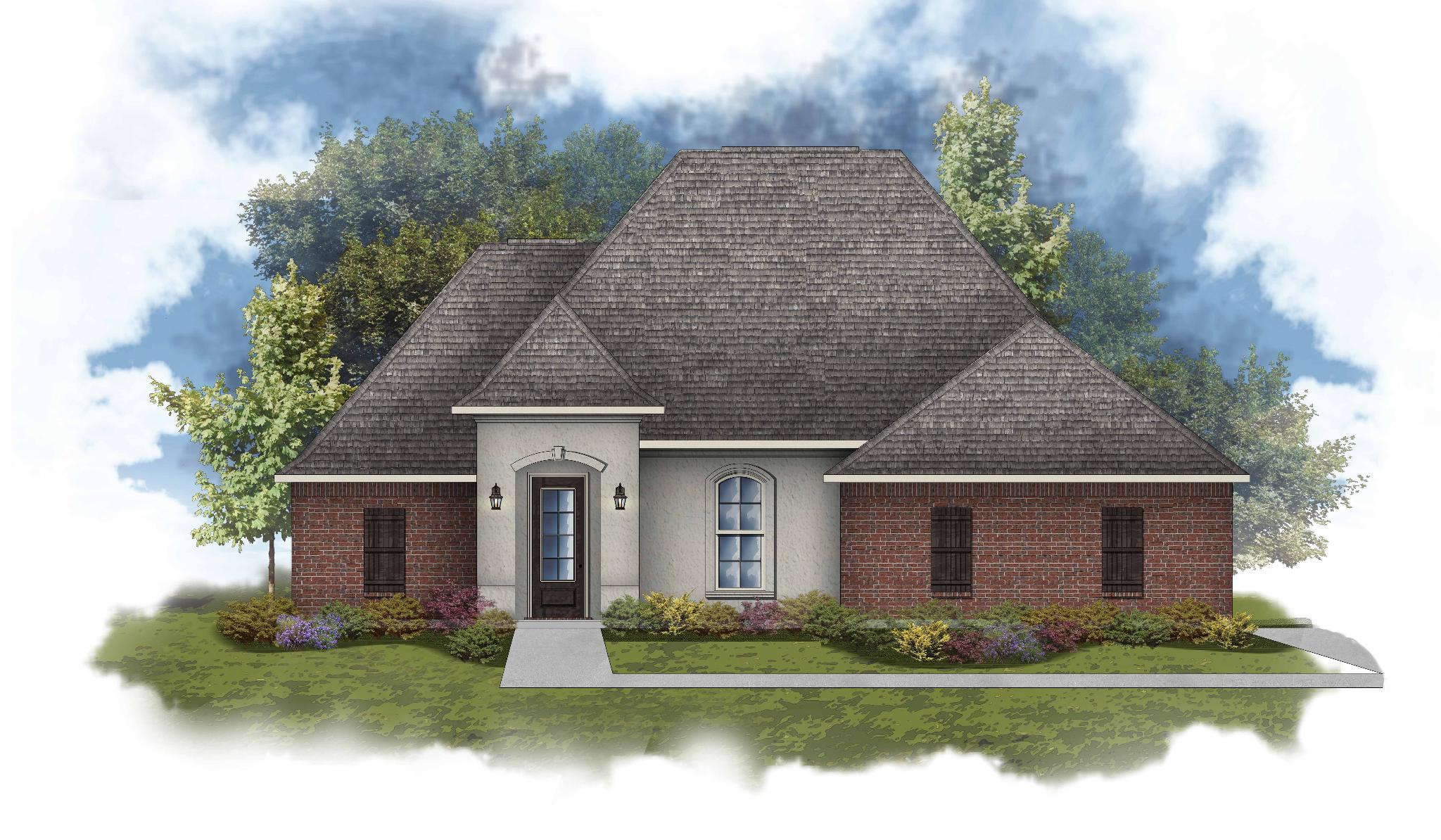 Exterior featured in the Clayton II A - Water View By DSLD Homes - Louisiana in New Orleans, LA