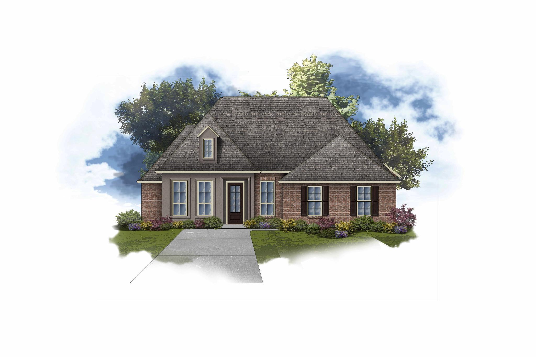 Exterior featured in the Delacroix II A By DSLD Homes - Louisiana in Monroe, LA