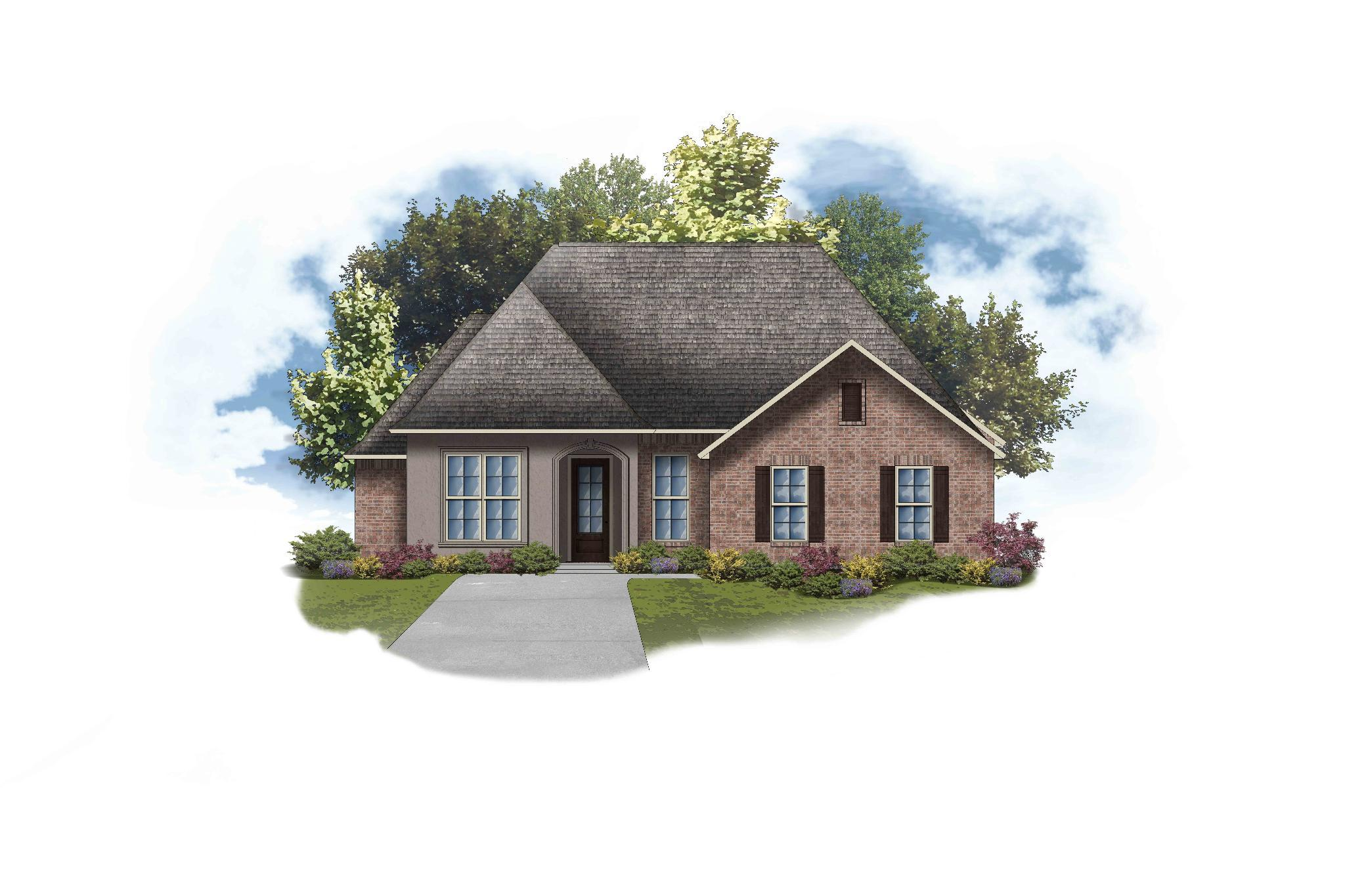 Exterior featured in the Delacroix II B By DSLD Homes - Louisiana in Monroe, LA