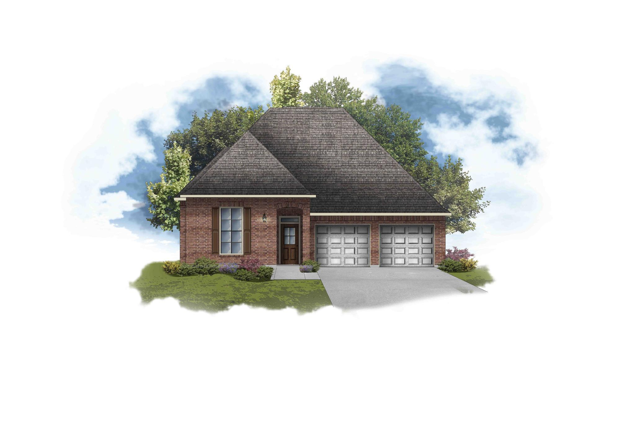 Exterior featured in the Violet III B By DSLD Homes - Louisiana in Shreveport-Bossier City, LA