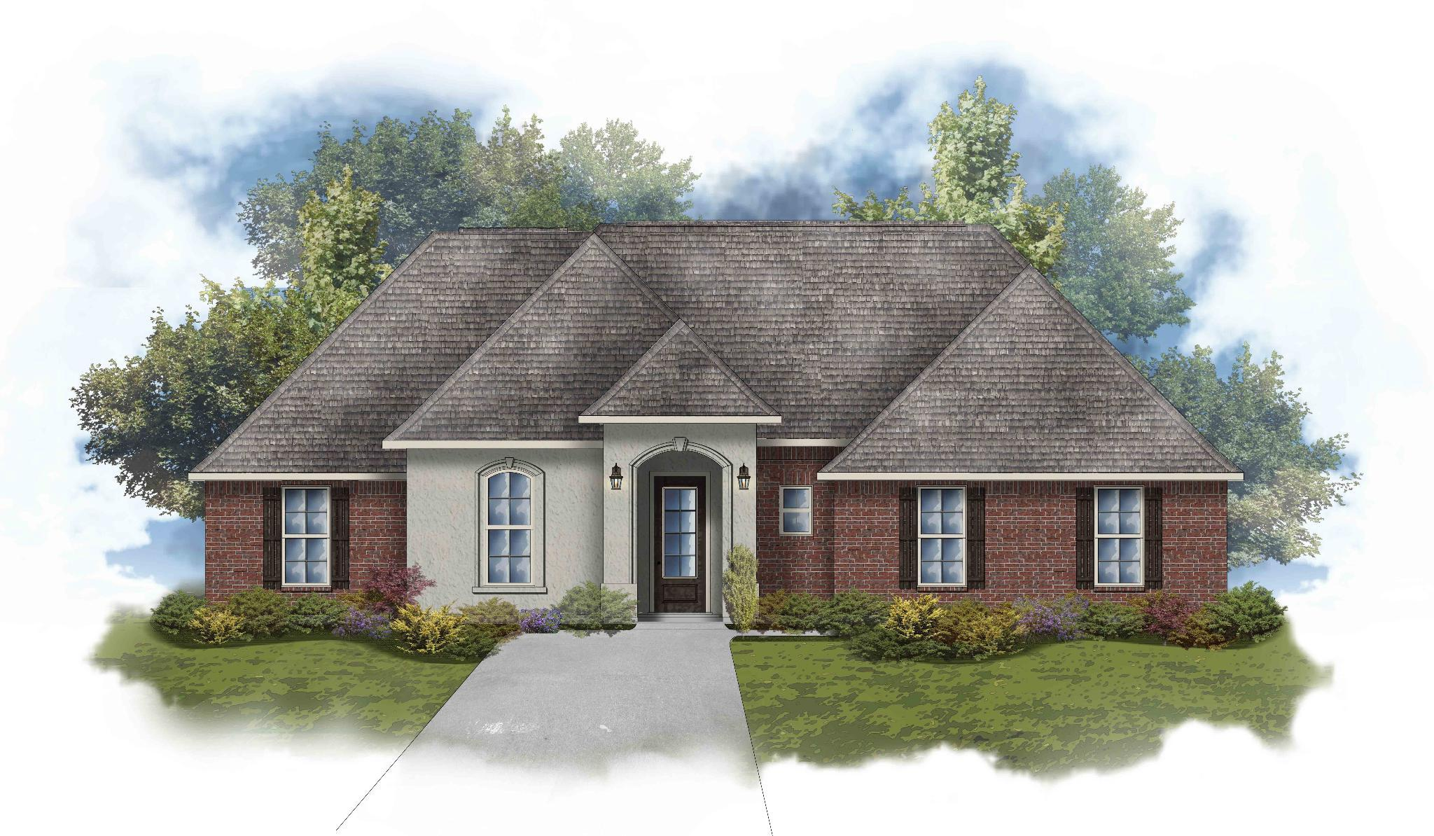 Exterior featured in the Bon Temps III A By DSLD Homes - Louisiana in Shreveport-Bossier City, LA