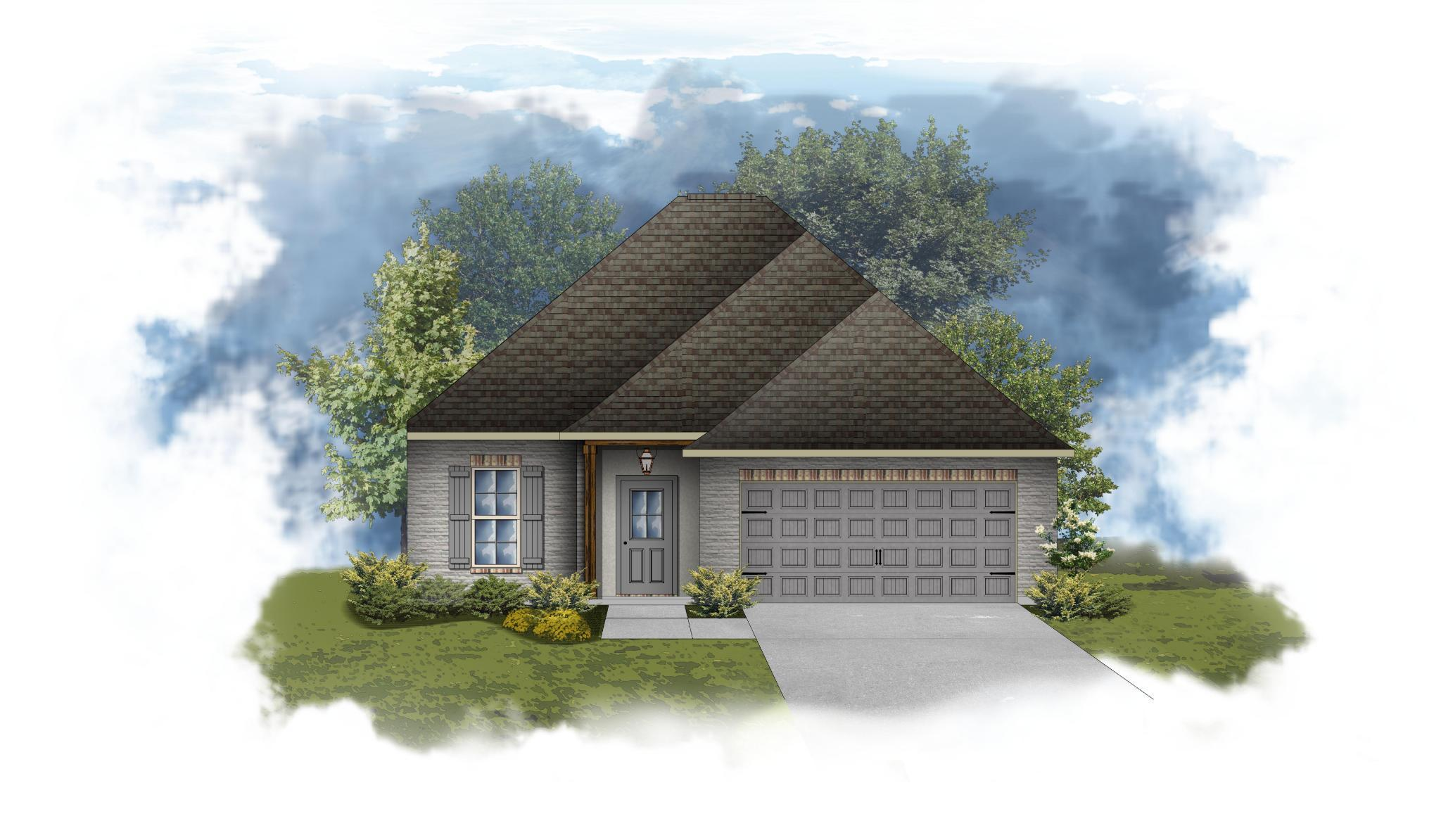 Exterior featured in the Dante III B - PB By DSLD Homes - Louisiana in Lafayette, LA