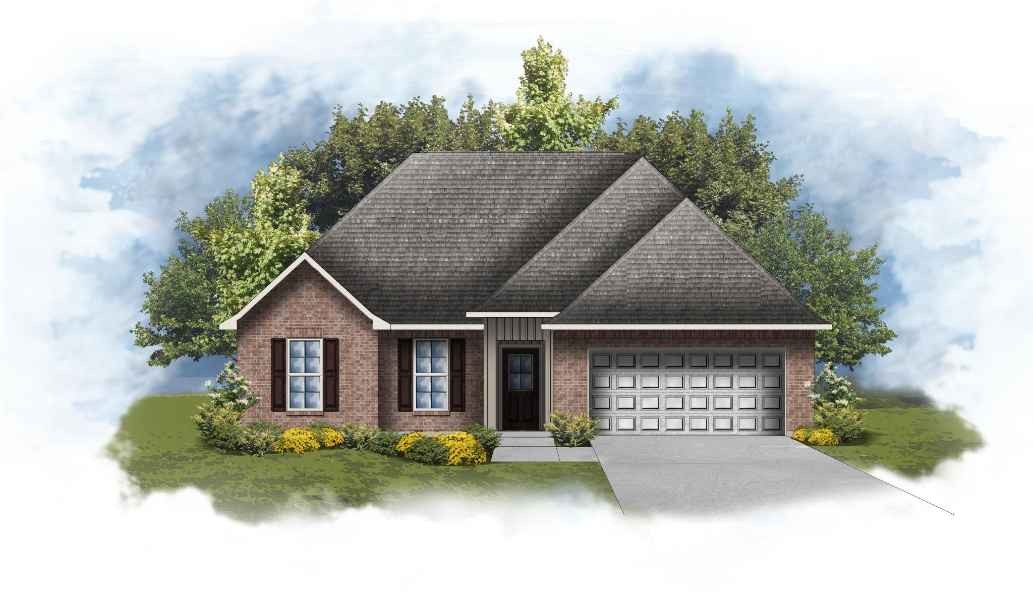 Exterior featured in the Ravenswood IV H By DSLD Homes - Louisiana in Pensacola, FL