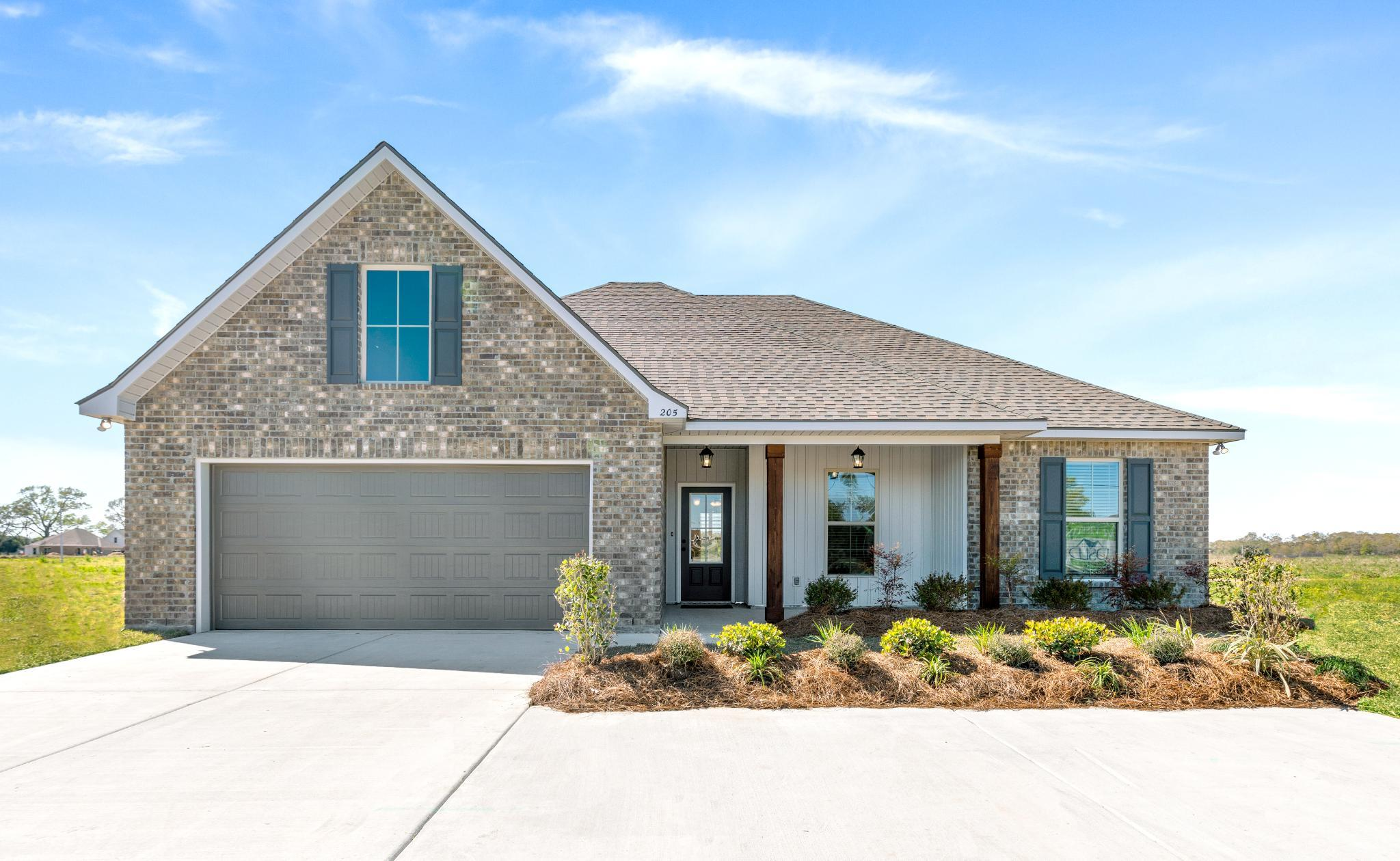 'Acadian Meadows' by DSLD Homes - Louisiana in Lafayette