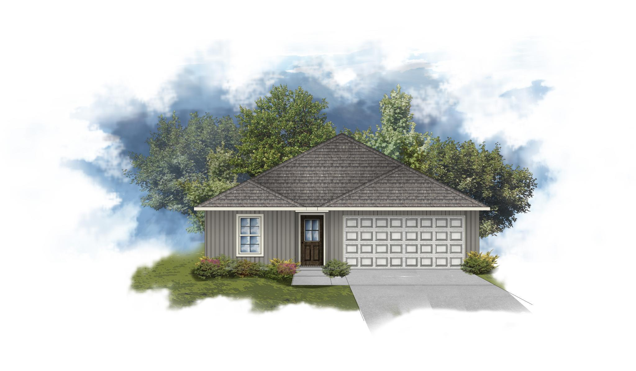 Exterior featured in the Denford III G By DSLD Homes - Louisiana in Lafayette, LA