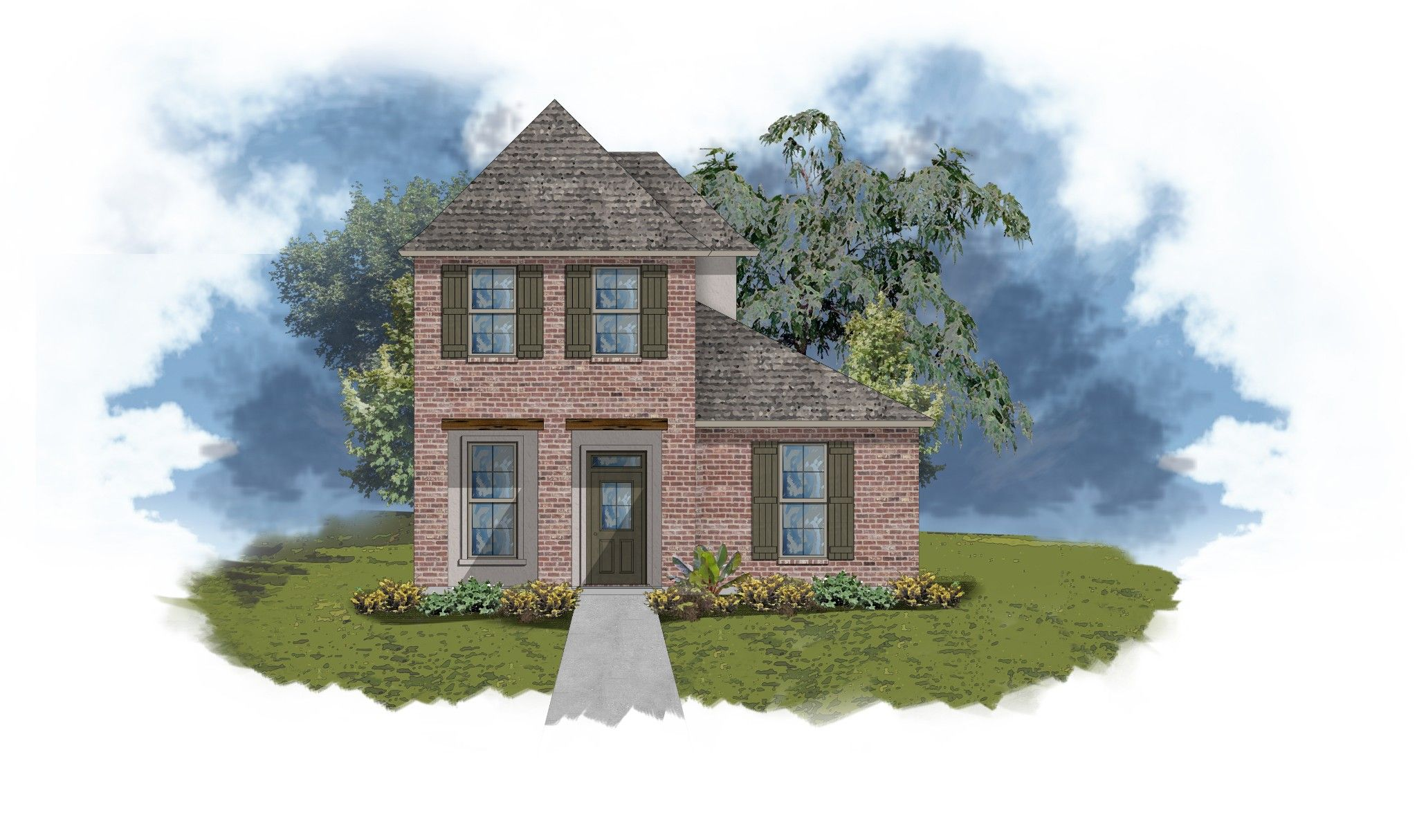 Exterior featured in the 680 HIGH RIDGE LP. By DSLD Homes - Louisiana in New Orleans, LA