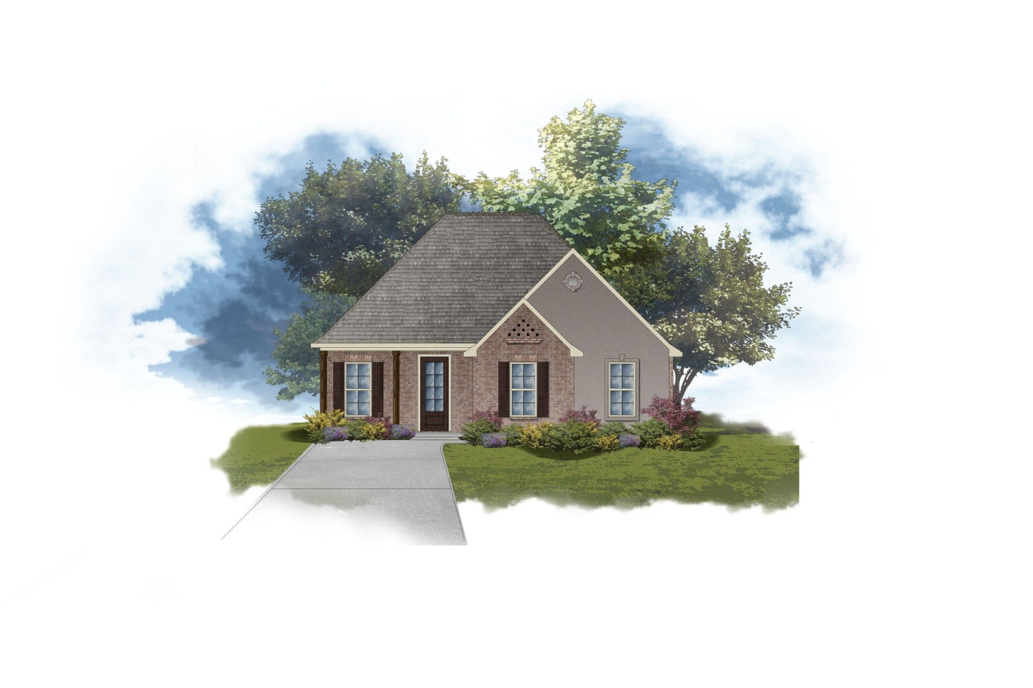 Exterior featured in the Botticelli II A By DSLD Homes - Louisiana in Baton Rouge, LA