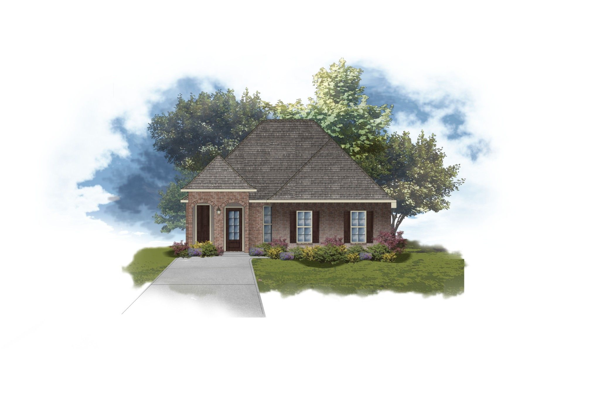 Exterior featured in the Ricci II B By DSLD Homes - Louisiana in Baton Rouge, LA