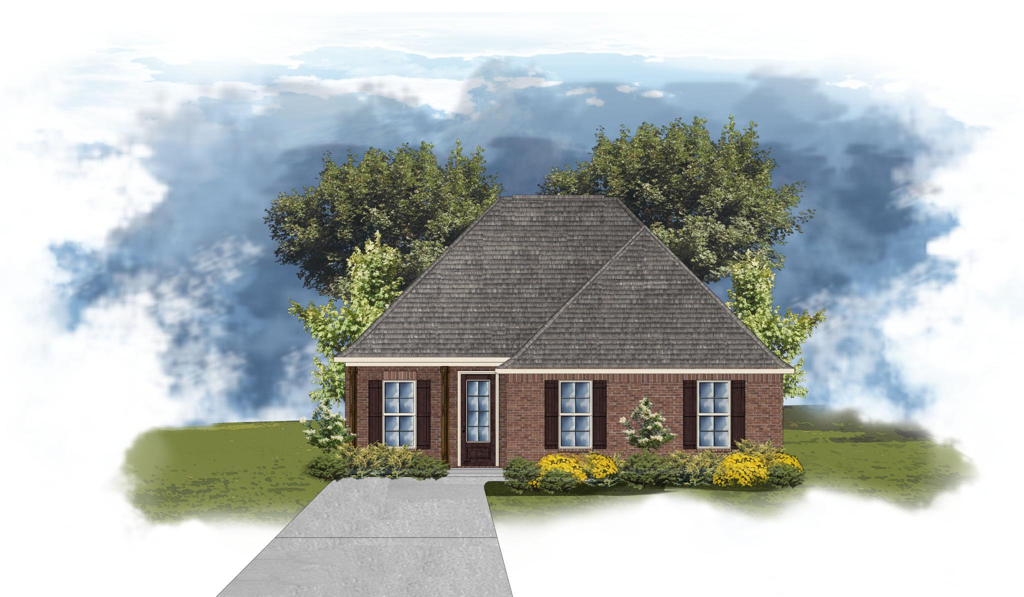 Exterior featured in the Gauguin II B By DSLD Homes - Louisiana in Lafayette, LA
