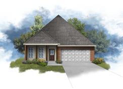 Oxford IV B - Optional Fireplace - Hidden Lakes Estates: Denham Springs, Louisiana - DSLD Homes - Louisiana