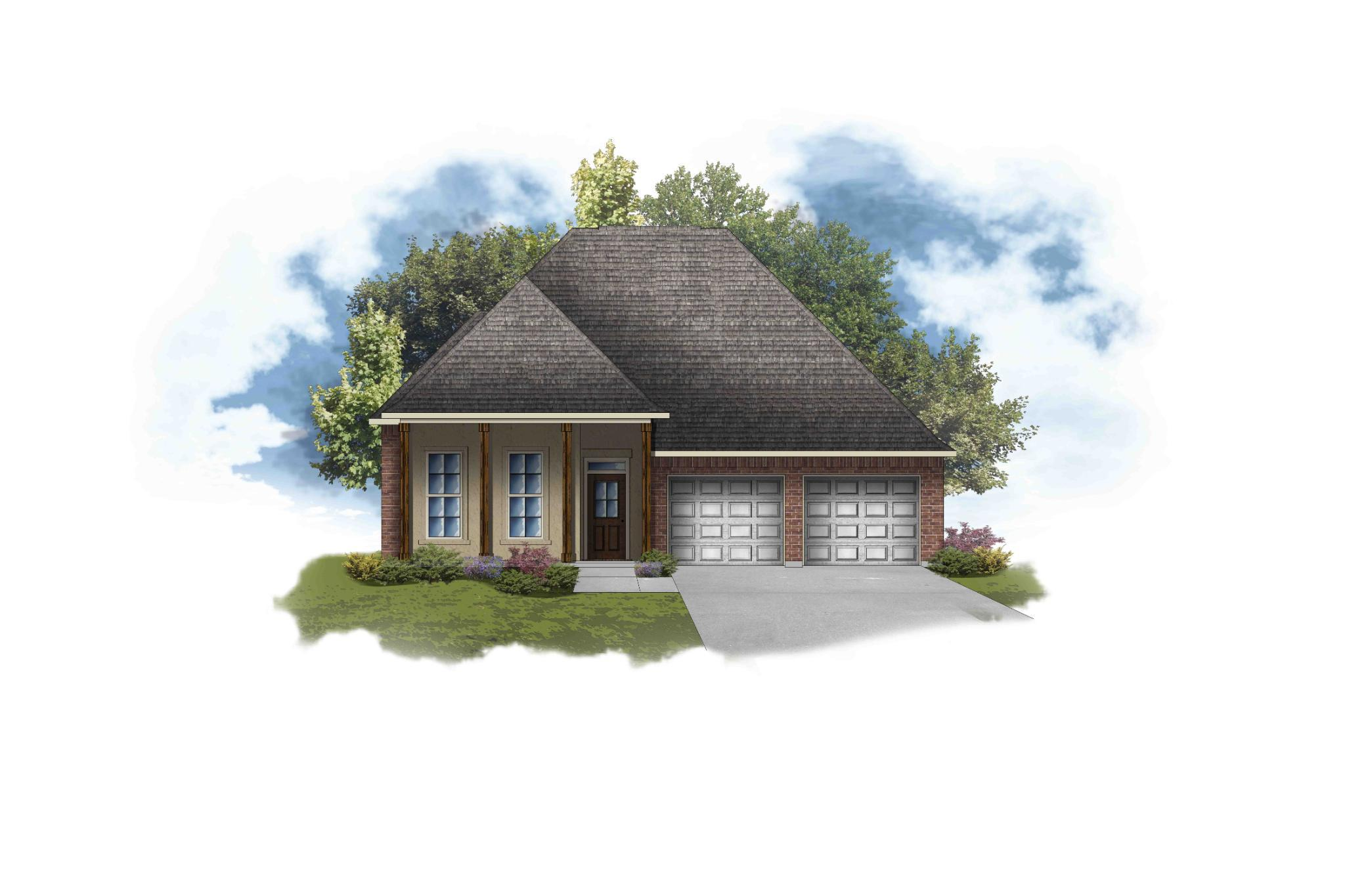 Exterior featured in the Violet III A - OF By DSLD Homes - Louisiana in Lake Charles, LA