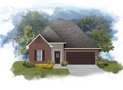 Trinity III G - Optional Fireplace - Rita Babin: Brusly, Louisiana - DSLD Homes - Louisiana
