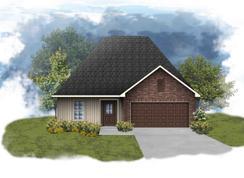 Newton III G - Optional Fireplace - Rita Babin: Brusly, Louisiana - DSLD Homes - Louisiana