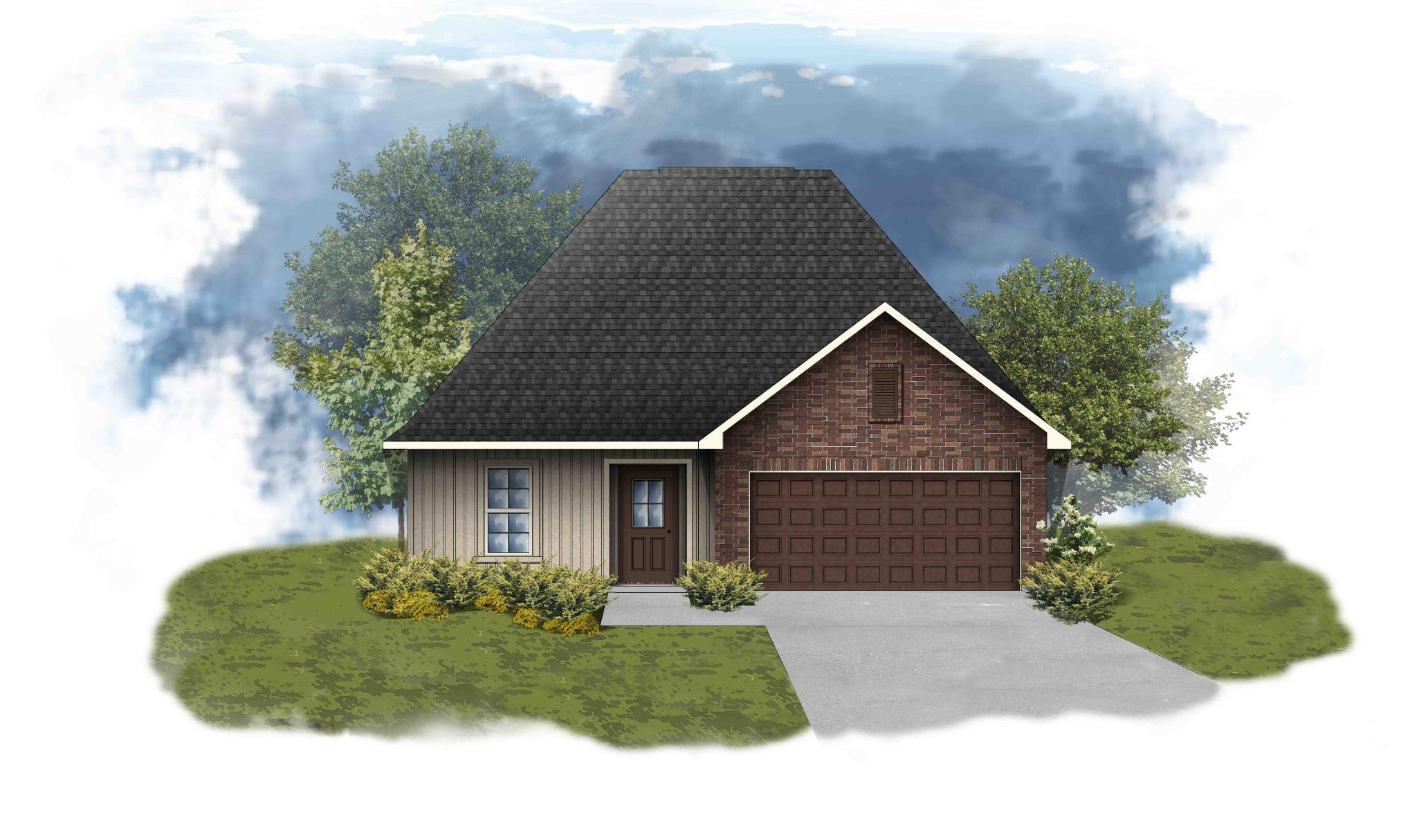 Exterior featured in the Newton III G - OF By DSLD Homes - Louisiana in Lake Charles, LA