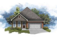 Oakridge IV G - Optional Fireplace - Highland Trace: Prairieville, Louisiana - DSLD Homes - Louisiana
