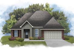 Rowland IV I - Optional Fireplace - Myrtle Grove: Plaquemine, Louisiana - DSLD Homes - Louisiana