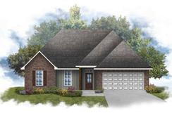 Rosman IV G - Optional Fireplace - Myrtle Grove: Plaquemine, Louisiana - DSLD Homes - Louisiana