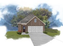 Langley II C - Optional Fireplace - Kenilworth Crossing: Baton Rouge, Louisiana - DSLD Homes - Louisiana