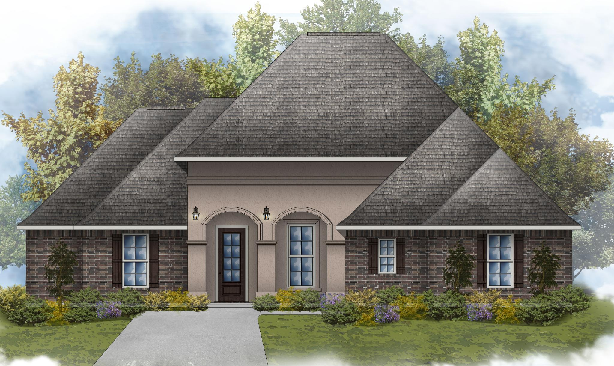Exterior featured in the Dubois IV A By DSLD Homes - Louisiana in Shreveport-Bossier City, LA