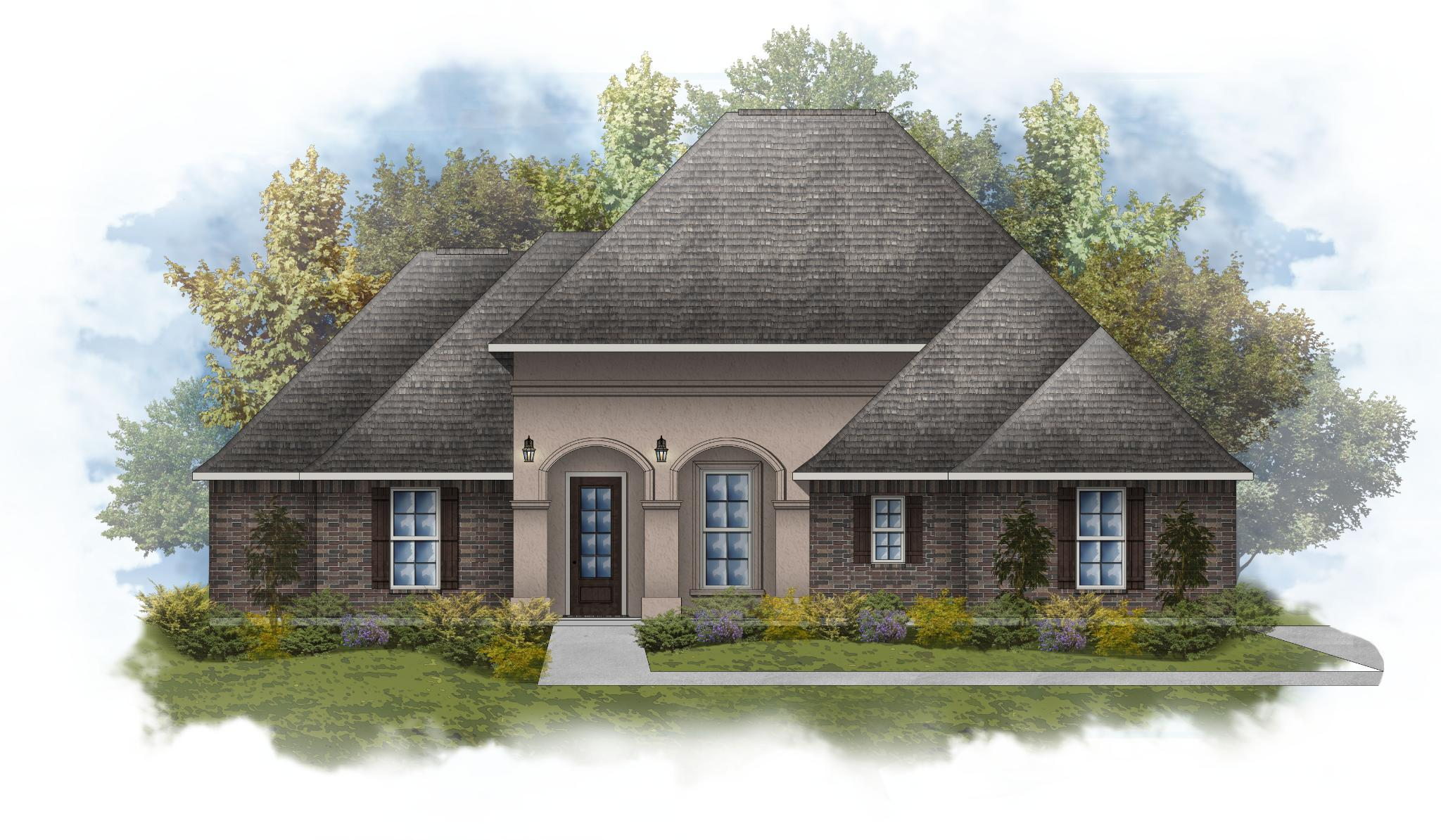 Exterior featured in the Deacon IV A By DSLD Homes - Louisiana in New Orleans, LA