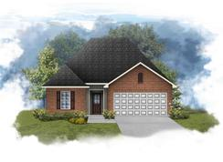Connelly III G - Optional Fireplace - Rita Babin: Brusly, Louisiana - DSLD Homes - Louisiana