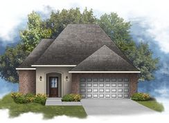 Buckingham IV A - Optional Fireplace - Nickens Lake: Denham Springs, Louisiana - DSLD Homes - Louisiana