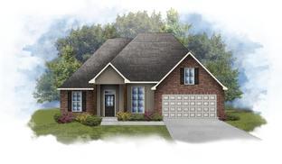 Reims IV B - Optional Fireplace - Nickens Lake: Denham Springs, Louisiana - DSLD Homes - Louisiana