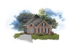 Aubry II A - Fairview Gardens: Zachary, Louisiana - DSLD Homes - Louisiana
