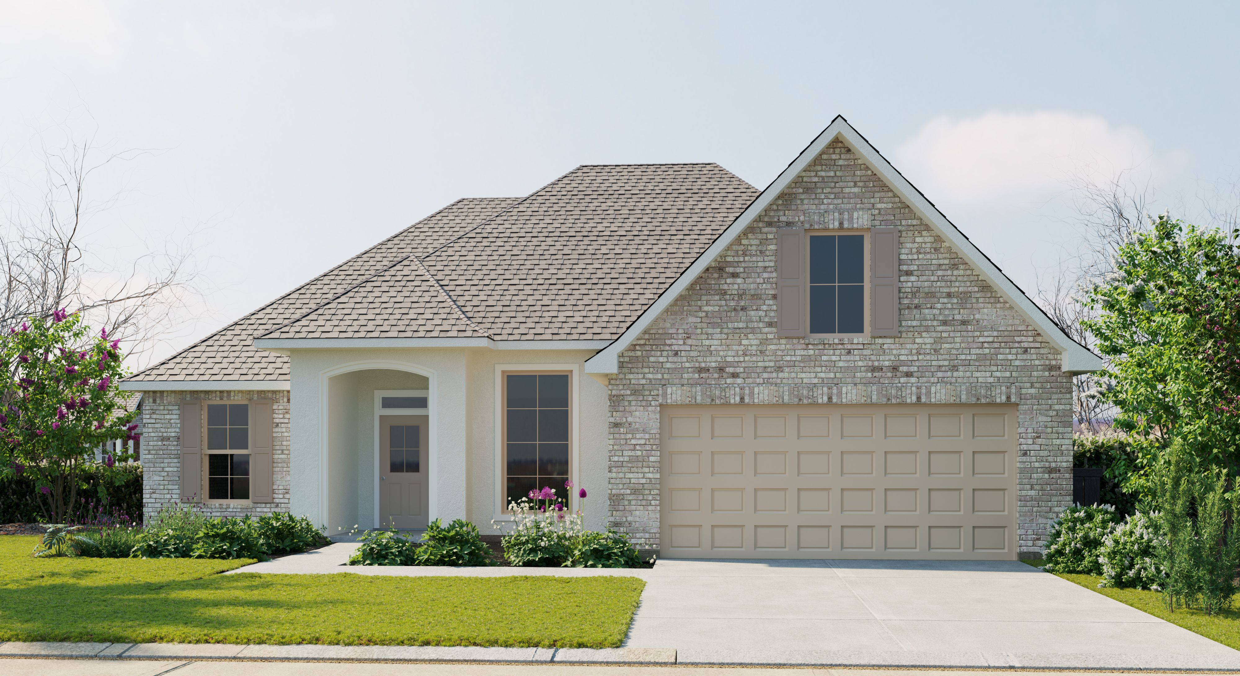 Exterior featured in the Reims IV A - Fairhope By DSLD Homes - Louisiana in Baton Rouge, LA