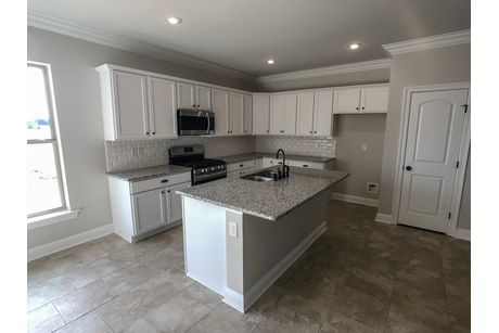 Kitchen-in-Begonia IV A-at-Beauclaire-in-Bossier City
