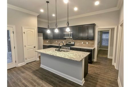 Kitchen-in-Freesia IV A-at-Beauclaire-in-Bossier City