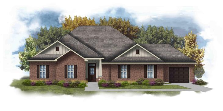 Cleveland III K - Open Floor Plan - DSLD Homes