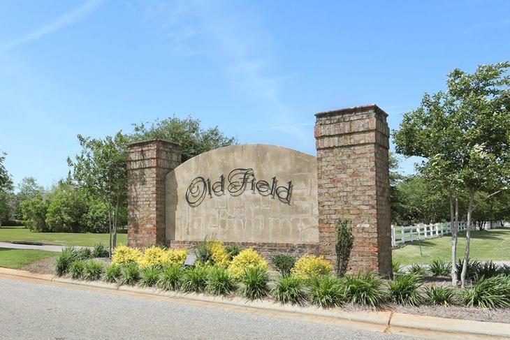 Community Sign  - DSLD Homes - Daphne - Old Field