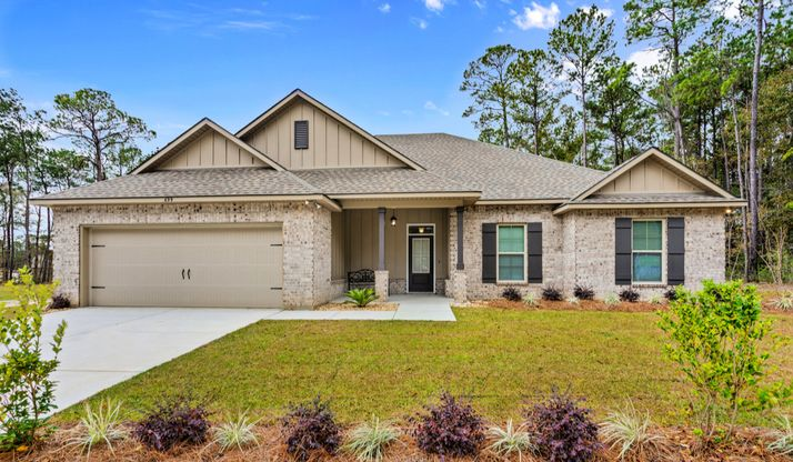Front of Model Home - Talla Pointe - DSLD Homes Ocean Springs