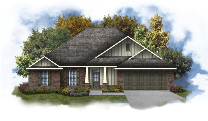 Hendricks III B Open Floor Plan - DSLD Homes
