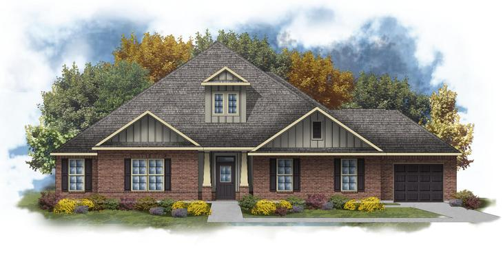 Taylor III D - Open Floor Plan - DSLD Homes