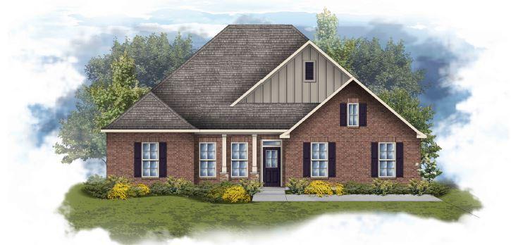 Conway II H - Floor Plan- Huntsville