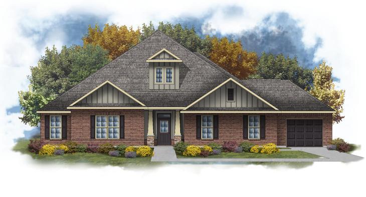 Taylor III D - Huntsville - Open Floor Plan - DSLD Homes