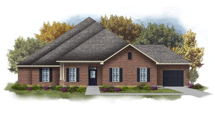 Fillmore III I - Open Floor Plan - DSLD Homes