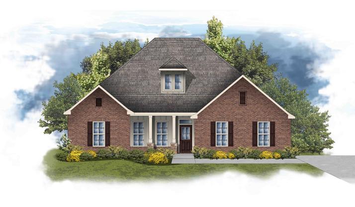 Castleton II A - Open Floor Plan - DSLD Homes
