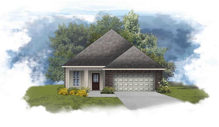 Frazier IV G - Open Floor Plan - DSLD Homes