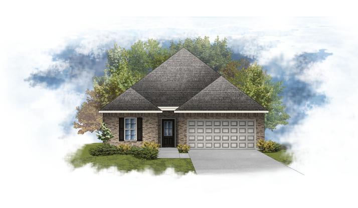 Puritan III A - Open Floor Plan - DSLD Homes