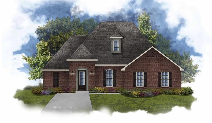 Claudet II B - Open Floor Plan - DSLD Homes