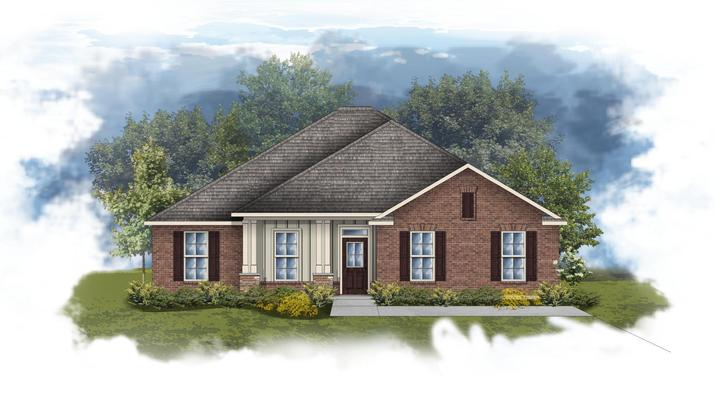 Rosita III A - Front elevation - Open floor plan